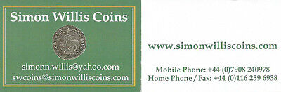 Simon Wilis Coins Ltd