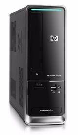 HP QUAD CORE SMALL FORM FACTOR PC / INBUILT WIRELESS / INBUILT TV TUNER / HDMI