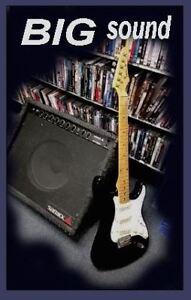 EXCELLENT!  SAMICK ELECTRIC & REAL BIG SAMICK AMP