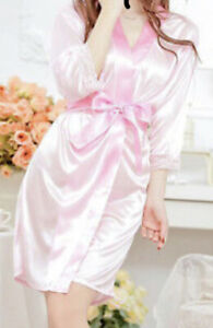 Brand new, never worn pink bridal party robes