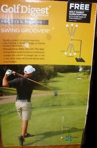 New - Golf Digest Swing Groover Tool For Practice & Training In Box