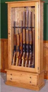 solid birch hardwood gun cabinet price at the most