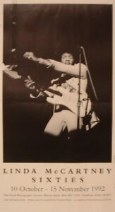 Jimi Hendrix Poster by Linda McCartney