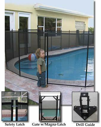 Removable Pool Fence Ebay