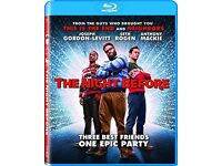 The night before..... brand new and sealed Blu-ray