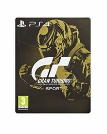 New Gran Turismo Sport Steelbook Gold Edition PS4
