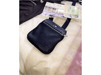 Armani jeans pouch navy