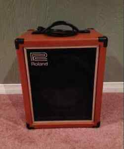 1970s roland cube 60 bass amp , very clean
