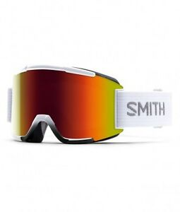 Brand New Smith 2016 Squad Goggles White / Red Sol X + Yellow
