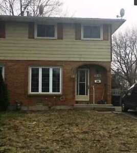 3 bdr/2.5 bath semidetached house for rent in Forest Glade area