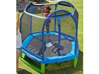 First trampoline