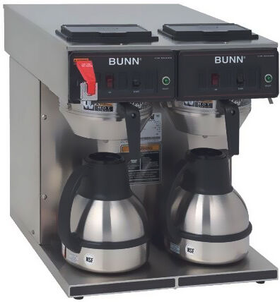 bunn twin thermal carafe automatic brewer