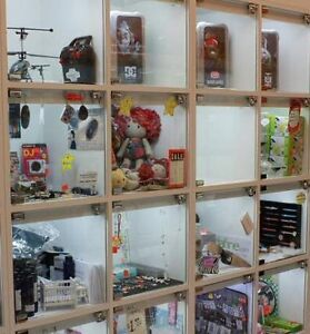 * Display cube for rent * New way to sell your items!
