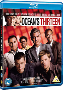 Ocean's Thirteen ( BRAND NEW BLU RAY )