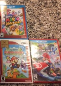 Nintendo Wii/ Wii U games lot