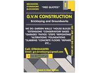 Bricklaying/Building Contractor. All aspects of Bricklaying and Building work
