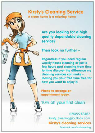 Kirsty's Cleaning Services, Glasgow, cleaner, domestic, ironing ...