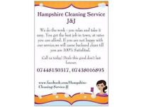 HAMPSHIRE CLEANING SERVICE J&J