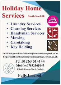 Cleaning and laundry in Cromer Sheringham west runton overstrand
