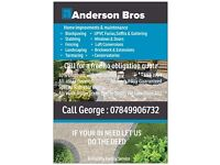 ANDERSON BROS GARDENING / BUILDING /LANDSCAPING AND DRIVE WAY CLEANING