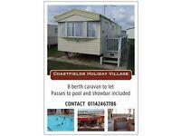 Coastfields Holiday Village Ingoldmells from 3rd september onwards