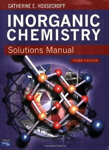 Inorganic Chemistry Solutions Manual Housecroft 3rd edition