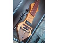 Electric 5 strings double bass, great professional instrument