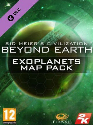 Sid Meier's Civilization Beyond Earth Exoplanets Map Pack Digital Code PC