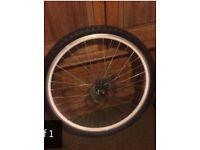 "29"" mountain bike rear wheel with disk"