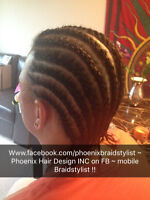 Hair Extensions - Weave , Braids - Cornrows , Singles , & Locks
