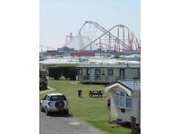Caravan hire ingoldmells Skegness 300 yards to fantasy island