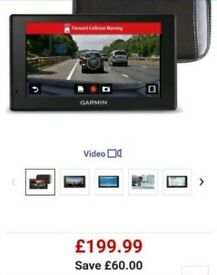 Garmin satnav lifetime free updates full Europe maps Bluetooth gps