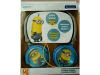Lexibook despicable me stereo headphones