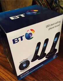 New in box BT 3540 trio with answer phone