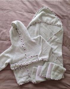 Bath robe, towel & cloths