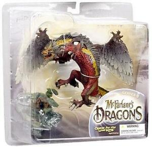 "Mcfarlane's Dragons "" Fire Dragon Clan"" Quest For The Lost King"