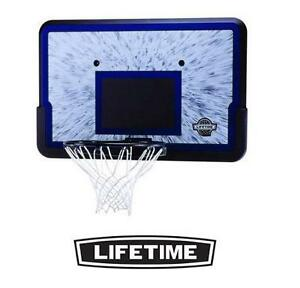 NEW LIFETIME BACKBOARD  RIM COMBO - 114809531 - BASKETBALL NET - HOOP