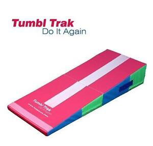 USED TUMBL TRAK FOLDING MINI RAMP - 117351817 - TUMBLING MATS