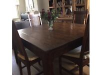 Lombok Teak Dining Table Only