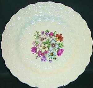 "Spode England Canadian Provincial Flowers, Serving Platter, 13"""