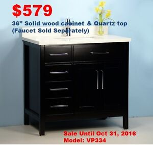 Bathroom Vanities/Toilets/Faucets-Oct Limited Time Promotion!