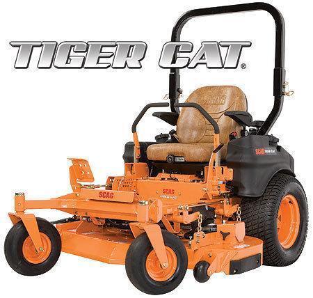 Scag Tiger Cat Lawnmowers Ebay