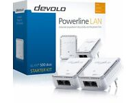 Devolo dLAN 500 Duo Powerline Starter Kit, Easy Ethernet Access Through Your Powerline