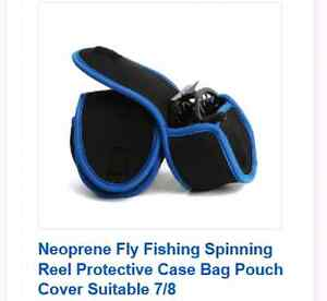 Fly reel cover fits 7/8