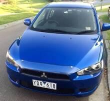 12 Mth Registration Metallic Blue Lancer 2010 SX Hatchback Croydon Hills Maroondah Area Preview
