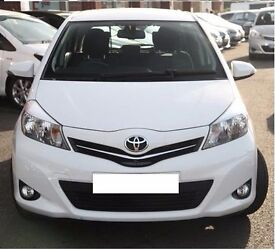 TOYOTA YARIS 1.33 TR VVT-i (2013 63 Plate) - LOW Mileage + Rear View Camera ONO