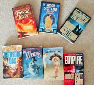 ENDERS GAME, Shadows, HOMECOMING & More ~ Orson SCOTT CARD