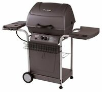 BBQ Char-Broil Quickset Traditional With Side Burner