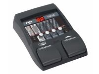 Digitech RP155 Modeling Guitar Processor with drum tracks and looper