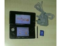 3DS console charger stylus 2GB memory card